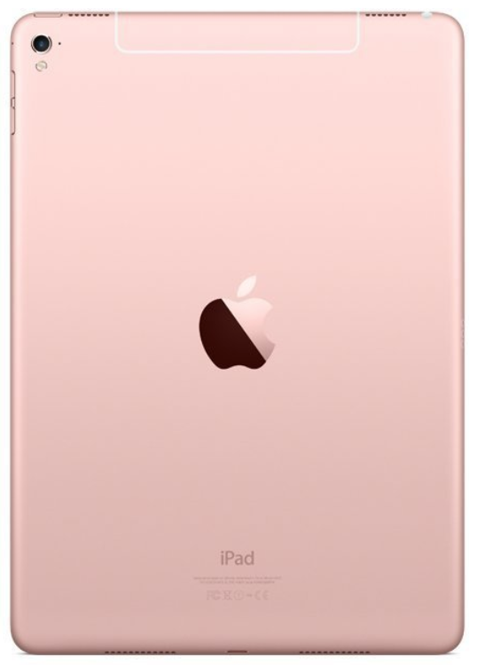 buying devices (ipad pro rose gold)